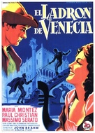Ladro di Venezia, Il - Spanish Movie Poster (xs thumbnail)
