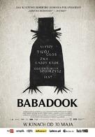 The Babadook - Polish Movie Poster (xs thumbnail)
