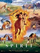 Spirit: Stallion of the Cimarron - French Movie Poster (xs thumbnail)