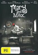 Mary and Max - Australian DVD cover (xs thumbnail)