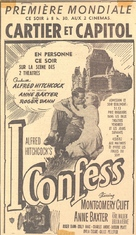 I Confess - poster (xs thumbnail)