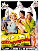 Scared Stiff - Belgian Movie Poster (xs thumbnail)