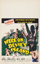 Hell on Devil's Island - Movie Poster (xs thumbnail)