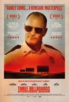 Three Billboards Outside Ebbing, Missouri - British Movie Poster (xs thumbnail)