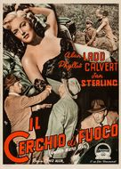 Appointment with Danger - Italian Movie Poster (xs thumbnail)