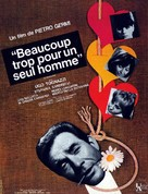 L'immorale - French Movie Poster (xs thumbnail)
