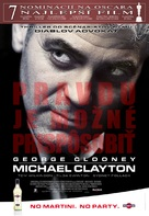 Michael Clayton - Slovak Movie Poster (xs thumbnail)
