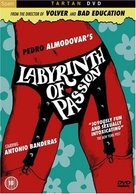 Laberinto de pasiones - British DVD cover (xs thumbnail)