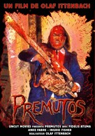 Premutos - Der gefallene Engel - French DVD cover (xs thumbnail)