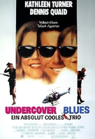 Undercover Blues - German Movie Poster (xs thumbnail)