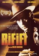 Du rififi chez les hommes - Spanish DVD movie cover (xs thumbnail)