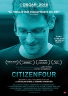 Citizenfour - Spanish Movie Poster (xs thumbnail)