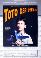 Toto le héros - German Movie Poster (xs thumbnail)