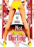Not Now Darling - British Movie Cover (xs thumbnail)