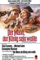 The Man Who Would Be King - German Movie Poster (xs thumbnail)