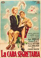 My Dear Secretary - Italian Movie Poster (xs thumbnail)