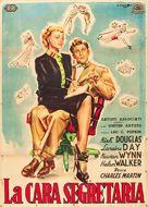 My Dear Secretary - Italian Movie Poster (xs thumbnail)