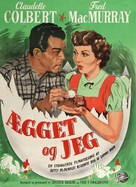 The Egg and I - Danish Movie Poster (xs thumbnail)