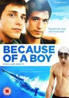 À cause d'un garçon - British DVD movie cover (xs thumbnail)