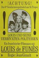 Gendarme et les gendarmettes, Le - German Movie Poster (xs thumbnail)