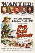 Five Bold Women - Movie Poster (xs thumbnail)