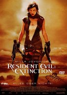 Resident Evil: Extinction - German Movie Cover (xs thumbnail)