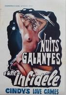 Amanti miei - Belgian Movie Poster (xs thumbnail)
