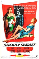 Slightly Scarlet - Movie Poster (xs thumbnail)