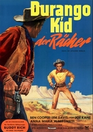 Duel at Apache Wells - German Movie Poster (xs thumbnail)