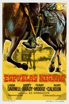 Black Spurs - Spanish Movie Poster (xs thumbnail)