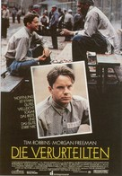 The Shawshank Redemption - German Movie Poster (xs thumbnail)