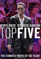 Top Five - DVD cover (xs thumbnail)