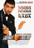 Johnny English - Spanish Movie Poster (xs thumbnail)