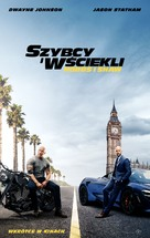 Fast & Furious Presents: Hobbs & Shaw - Polish Movie Poster (xs thumbnail)