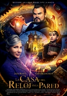 The House with a Clock in its Walls - Spanish Movie Poster (xs thumbnail)
