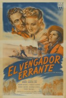 Wanderer of the Wasteland - Argentinian Movie Poster (xs thumbnail)