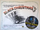 Black Christmas - British Movie Poster (xs thumbnail)