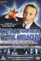 The Man Who Could Work Miracles - British DVD cover (xs thumbnail)