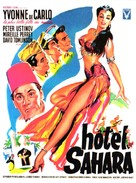 Hotel Sahara - French Movie Poster (xs thumbnail)