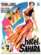 Hotel Sahara - French Movie Poster (xs thumbnail)