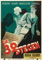 The 39 Steps - Swedish Movie Poster (xs thumbnail)