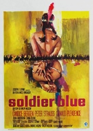 Soldier Blue - Belgian Movie Poster (xs thumbnail)