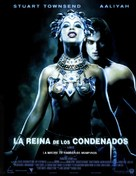 Queen Of The Damned - Spanish Movie Poster (xs thumbnail)