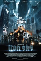 Iron Sky - Danish Movie Poster (xs thumbnail)