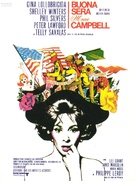 Buona Sera, Mrs. Campbell - French Movie Poster (xs thumbnail)