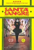 Santa sangre - Video release movie poster (xs thumbnail)