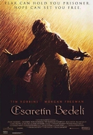 The Shawshank Redemption - Turkish Movie Poster (xs thumbnail)