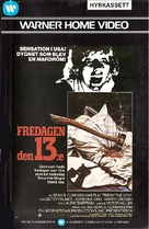 Friday the 13th - Finnish VHS cover (xs thumbnail)