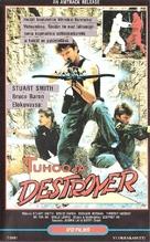 Ninja Destroyer - Finnish VHS movie cover (xs thumbnail)