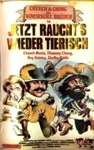 Cheech & Chong's The Corsican Brothers - German VHS cover (xs thumbnail)